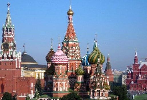 На экскурсиях в Москве