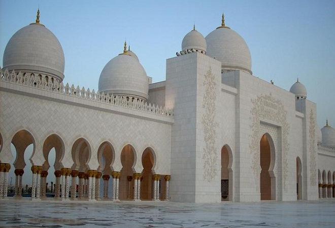Какой была Мечеть шейха Зайда в 2008 году?