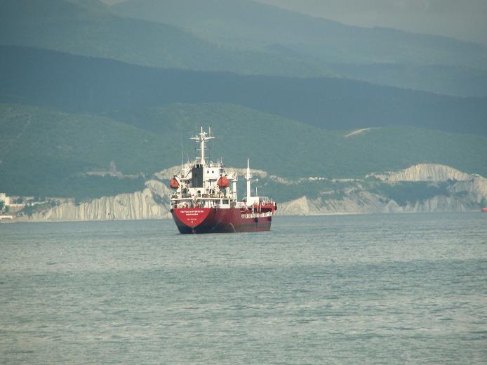 В порту Новороссийска