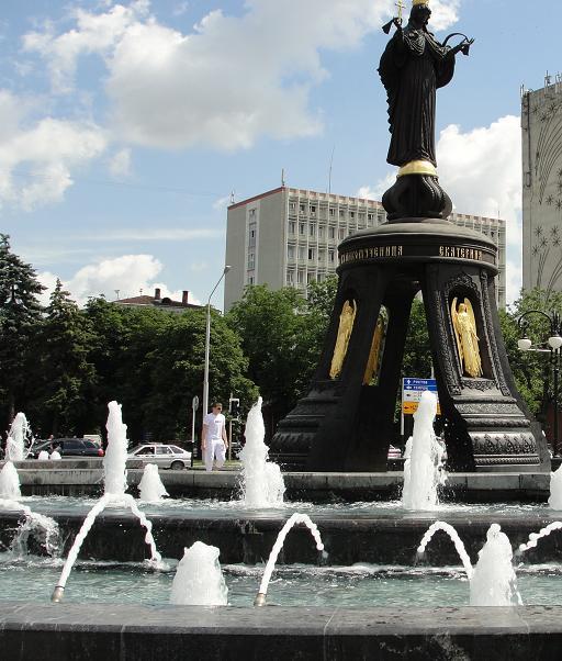 Памятник императрице Екатерине