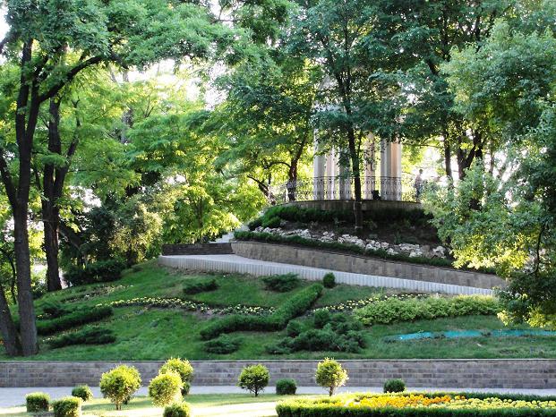 В парке Краснодара