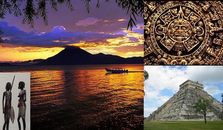 Путешествие в затерянный город Майя