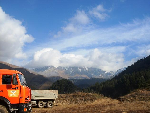 В горах Южной Осетии