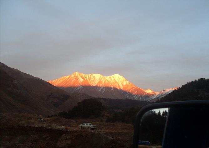 горы Южной Осетии