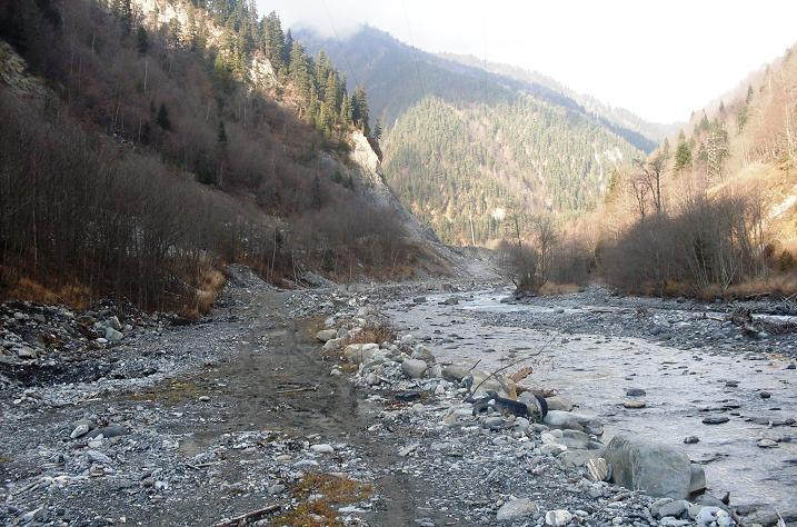 Река в Южной Осетии