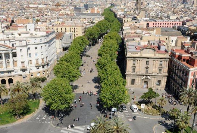 La Rambla Барселона