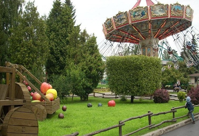 Парк Диво Остров Санкт Петербург