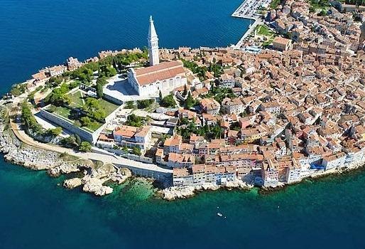 Пореч Хорватия красивый приморский город