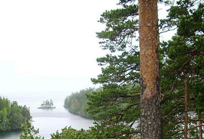 Святые места России Валаам остров