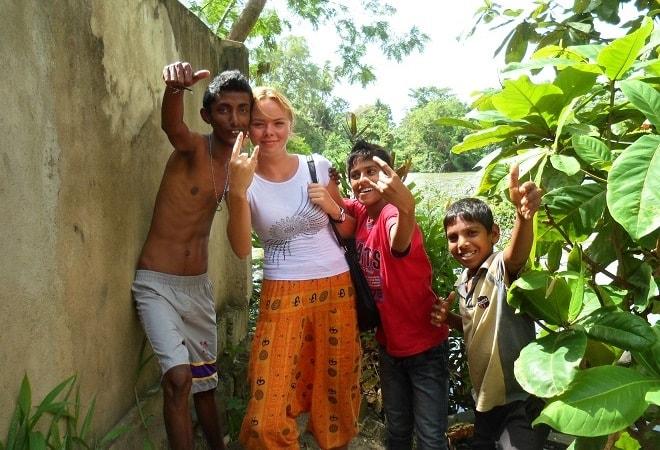 Культурный шок на острове Цейлон